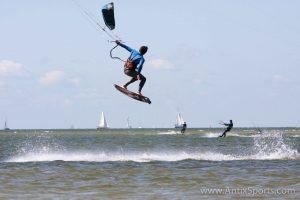 Gevorderde cursus kitesurfen Friesland-6