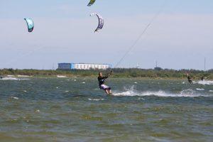 Kitesurf locatie Kornwerderzand
