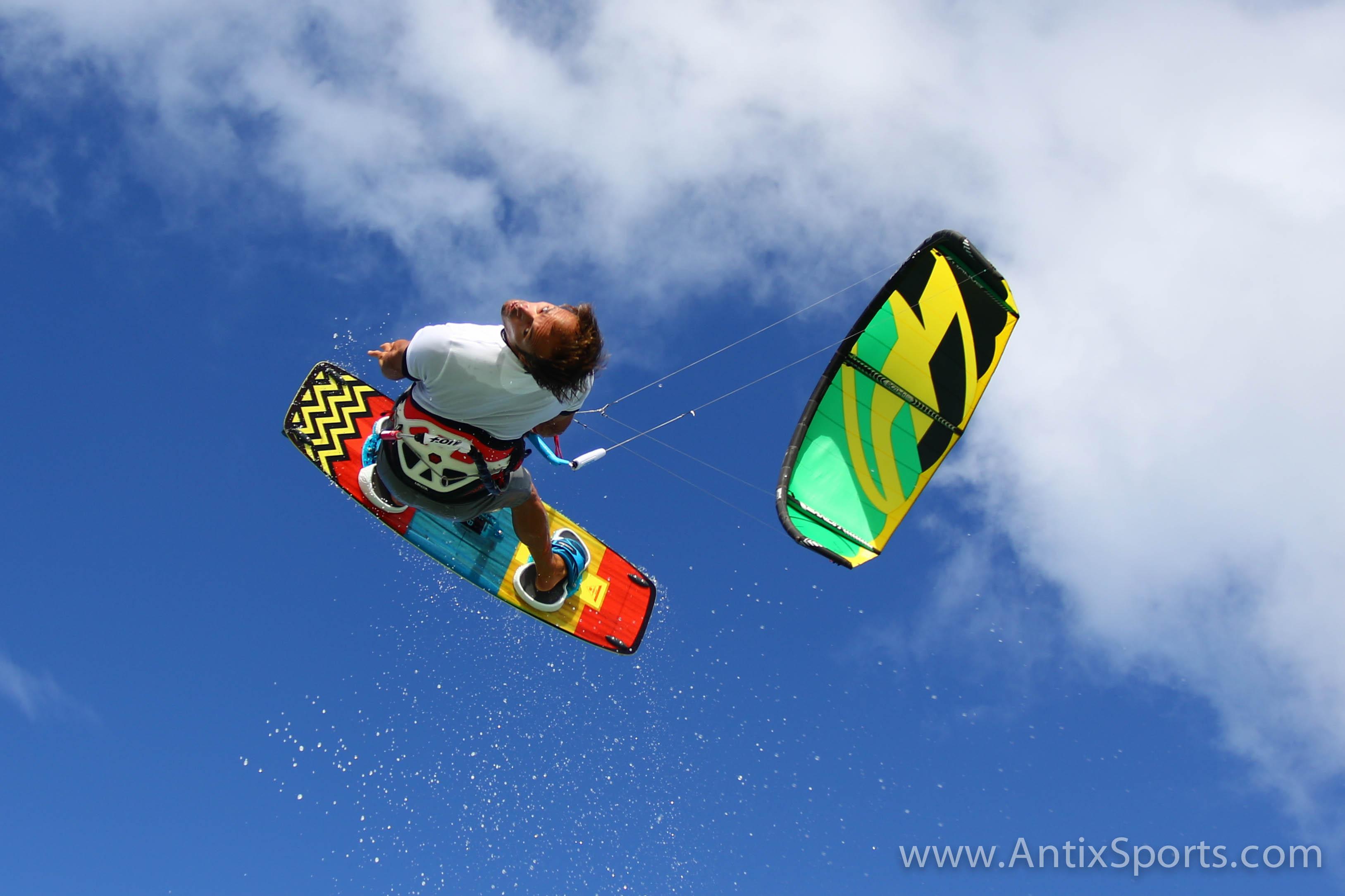 Win een kitesurfles voor 2 personen
